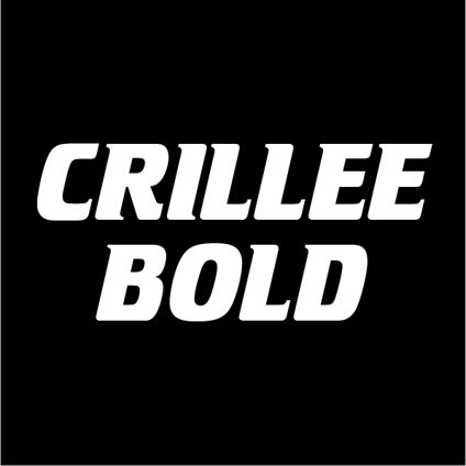 Custom Text - Crillee Bold