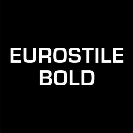 Custom Text - Eurostile Bold