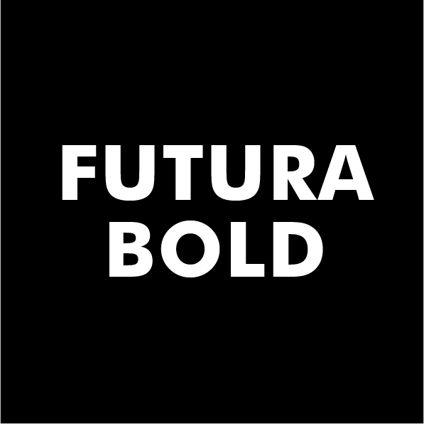 Custom Text - Futura Bold