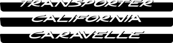 Transporter California Caravelle Side Stripes Porsche Style