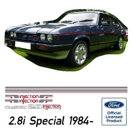 Capri 2.8 Injection 'Special' Stripe Kit 1984 onwards
