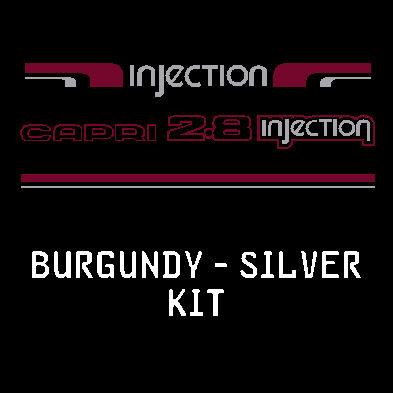 Burgundy/Silver