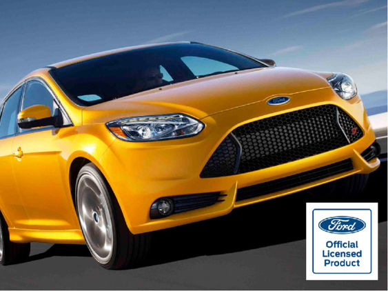 Focus Mk3 PRE Facelift - Gel Badge Overlays - ST Model ONLY