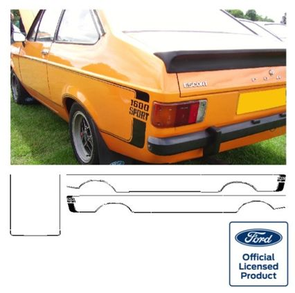 Escort Mk2 1300/1600 Sport Stripe Kit