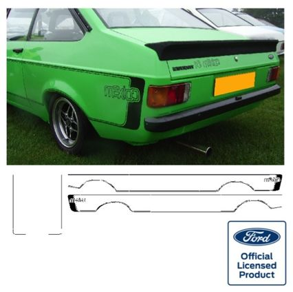 Escort Mk2 Mexico Stripe Kit
