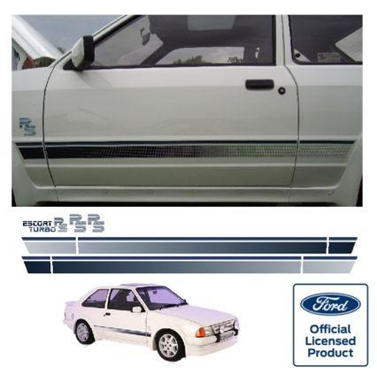 Escort Mk3 RS Turbo Stripe Kit - Side Stripes ONLY