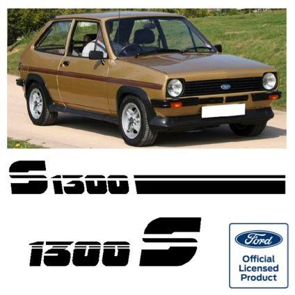 Fiesta Mk1 1300S Stripe Kit