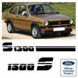Fiesta Mk1 1300S stripes