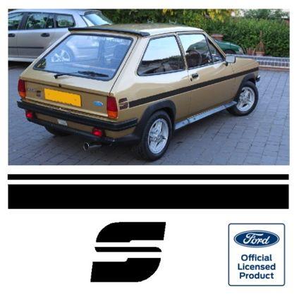 Fiesta Mk1 S Stripe Kit