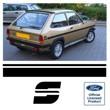 Fiesta Mk1 S stripes
