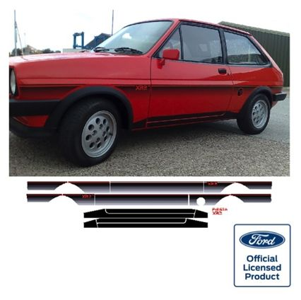 Fiesta Mk1 XR2 Stripe Kit