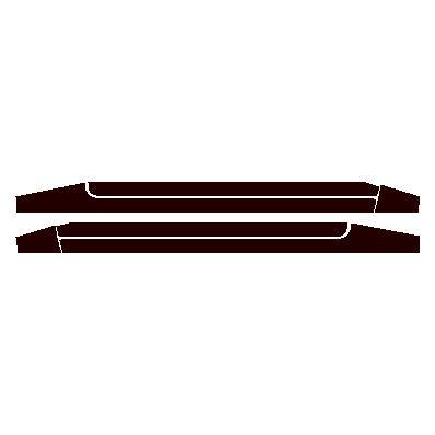 Fiesta Mk1 XR2 Sill Stripes.