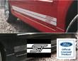 Fiesta Mk6 Side Stripes ST Logo at Front Gallery