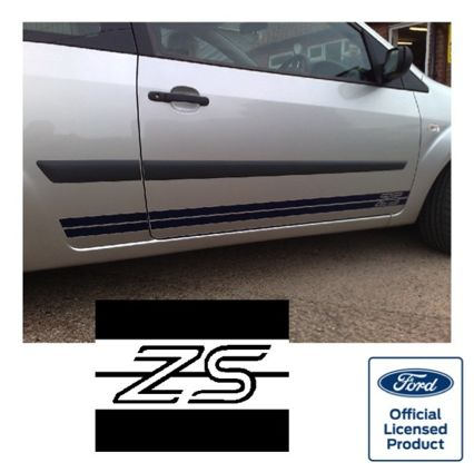 Fiesta Mk6 Side Stripes - ZS LOGO