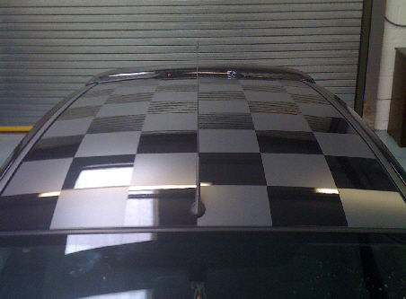 Universal Chequered Roof Kit