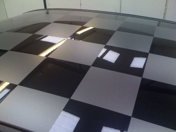 Chequered roof 1