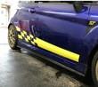 Fiesta Mk7 Chequer Side Stripes 2