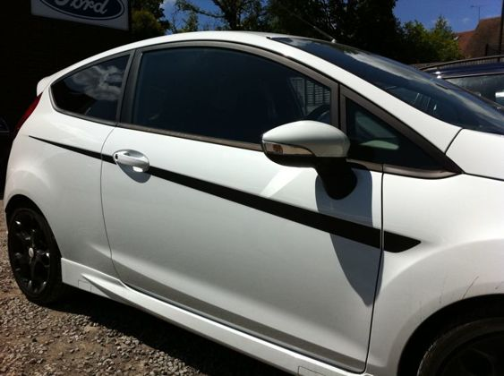 Fiesta Mk7 SOLID Side Stripes