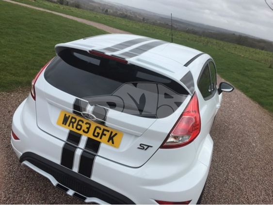 Fiesta Mk7 5 OTT Stripes 4