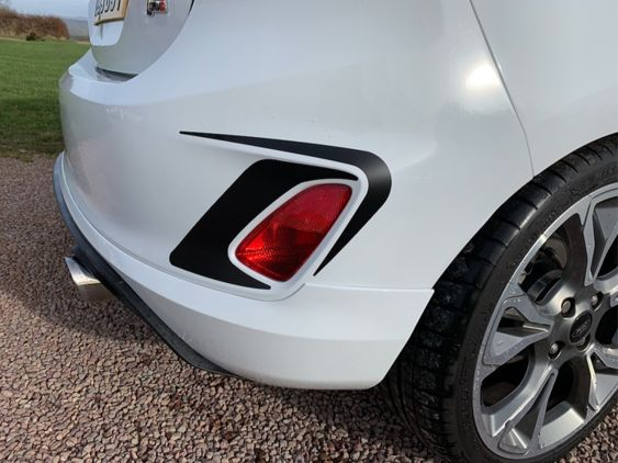 Fiesta Mk8 ST Line Rear Accents