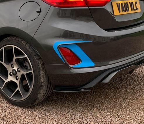 Fiesta Mk8 ST Rear Accents 2