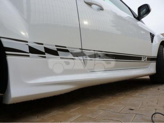 Focus Mk2 Retro Side stripes 3