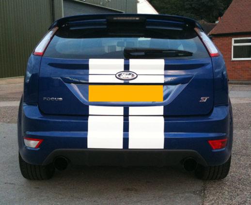 Focus mk2 viper stripes FACELIFT rear