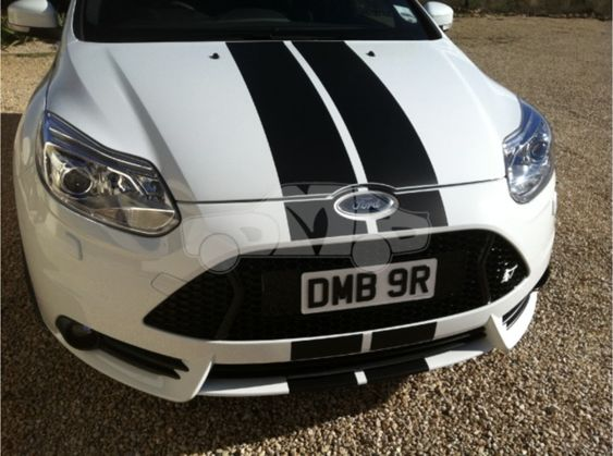 Focus Mk3 ST250 OTT / Viper Stripes - 2012 - PRE Facelift Hatchback ONLY