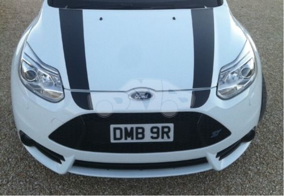 Focus Mk3 PFL ST Bonnet and Bumper Stripes