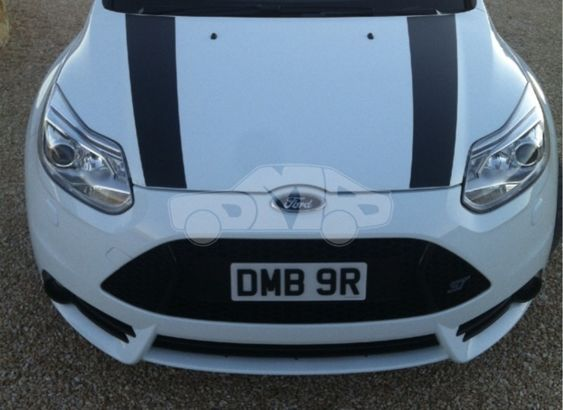 Focus Mk3 PFL ST Bonnet stripes