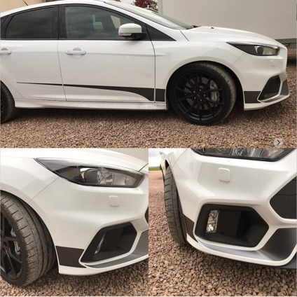 Focus Mk3.5 RS Side Stripe / Accent Kit - V3