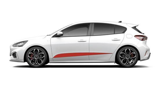 Focus Mk4 Side Stripes - Wide Version
