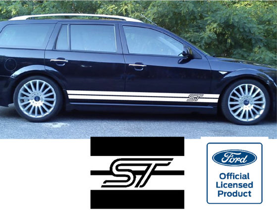 ST Logo Universal Side Stripe Kit