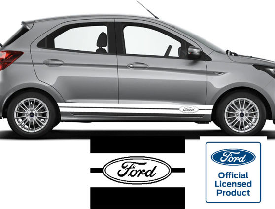 Ford Oval Logo Universal Side Stripe Kit
