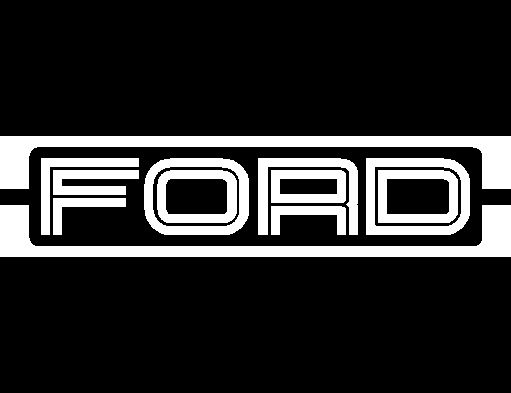 Ford Logo Universal Side Stripe Kit