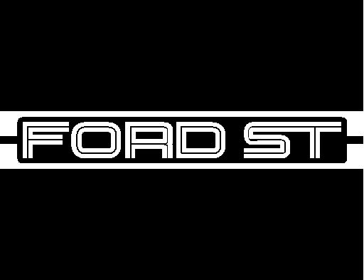Ford ST Logo Universal Side Stripe