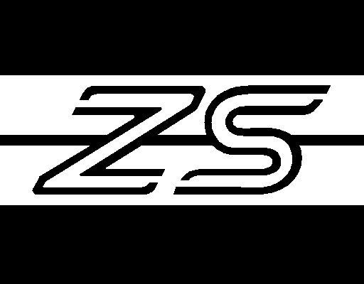 ZS Logo Universal Side Stripe Kit