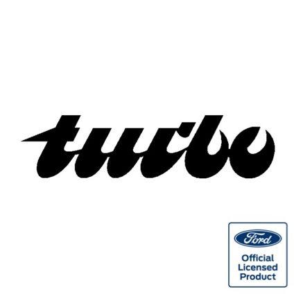 Capri 'Turbo' Rear Decal
