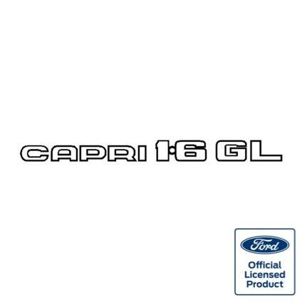 Capri 1.6GL decal