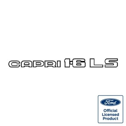 Capri 1.6LS decal