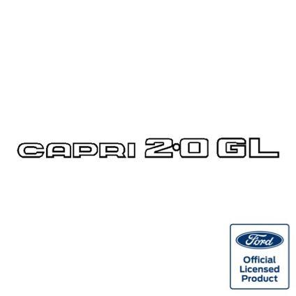 Capri 2.0GL Decal