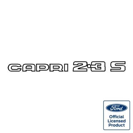 Capri 2.3S decal