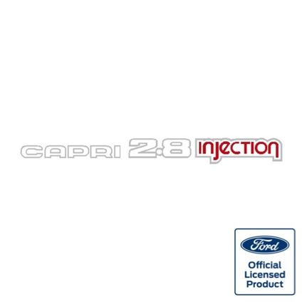 Capri 2.8 Injection decal
