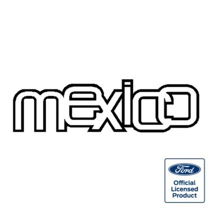 Mexico boot decal (official)