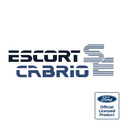Escort Mk3 Cabrio SE boot decal