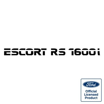 Escort rs1600i rear decal (official)