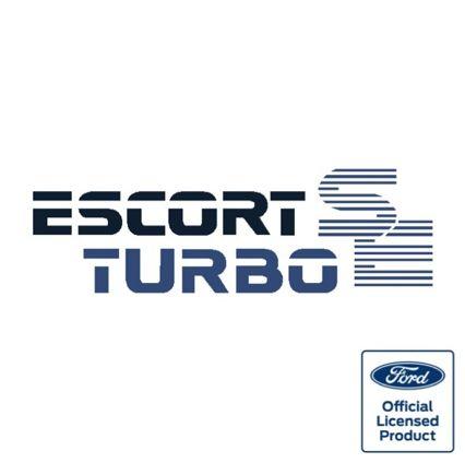 Escort Mk3 Turbo SE boot decal