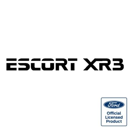 Escort Mk3 XR3 Tailgate decal