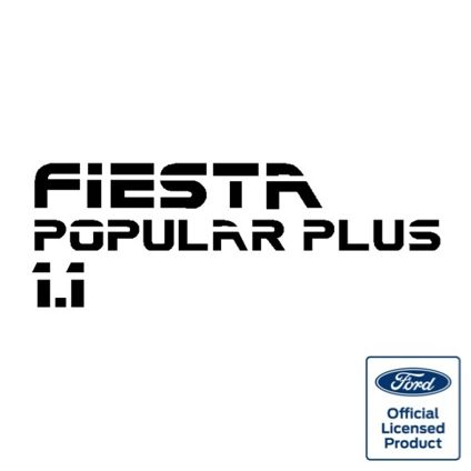 Fiesta Mk2 1.1 Popular Plus Tailgate Decal