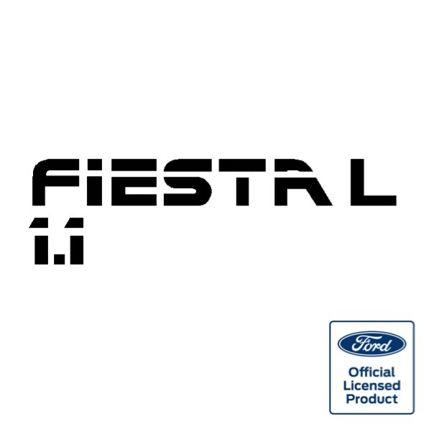 Fiesta Mk2 1.1L Tailgate Decal